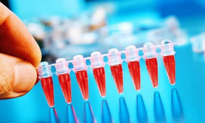 Побочным действием может быть уменьшение количества тромбоцитов. лейкоцитов, гранулоцитов, эритроцитов по данным клинического анализа крови