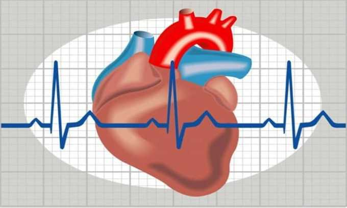 Препарат вызывает нарушение сердечного ритма