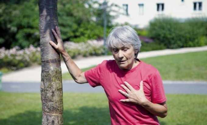 Побочное действие препарата со стороны дыхательной системы: бронхиальные спазмы