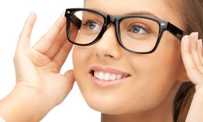 От неправильного приема снижается острота зрения