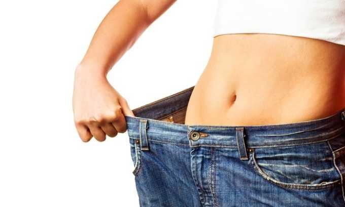 Лекарственные средства запрещено принимать при низкой массе тела больного (меньше 45 кг)