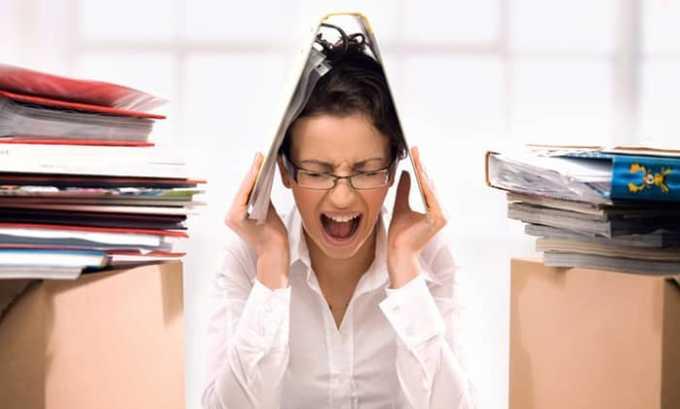 При передозировке может случиться нервное перевозбуждение