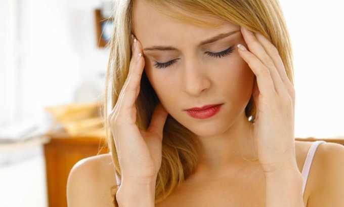 При применении лекарственного средства часто наблюдается сильная головная боль