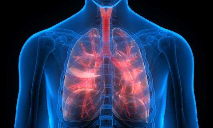 Кламосар назначают при инфекции дыхательных путей
