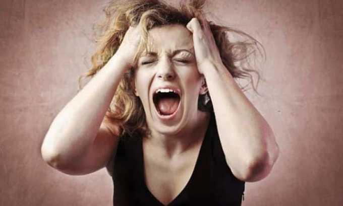Побочным действием от препарата может быть психическое возбуждение