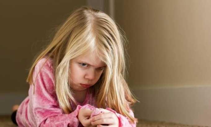 Также препарат противопоказан в детском возрасте