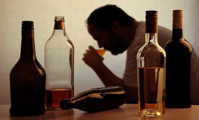 Канефрон нельзя принимать при алкоголизме