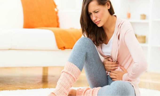 Побочный эффект Нолицина 400 — дискомфорт в желудке