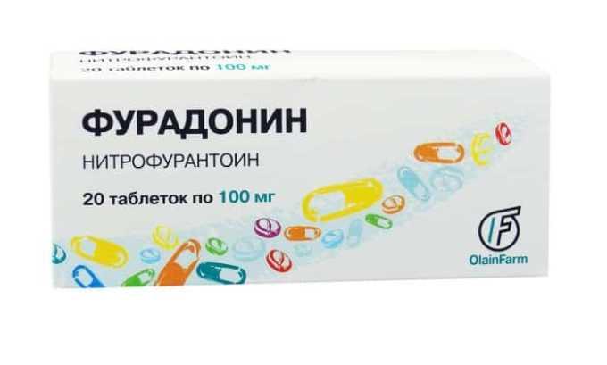 Фурадонин - противомикробное средство, выводящее микробы из мочевых путей