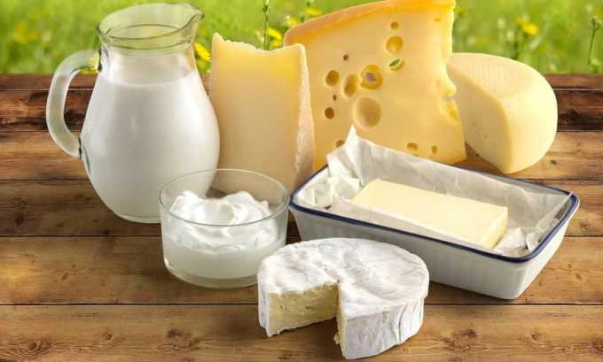 Пациентам с циститом полезны кисломолочные продукты