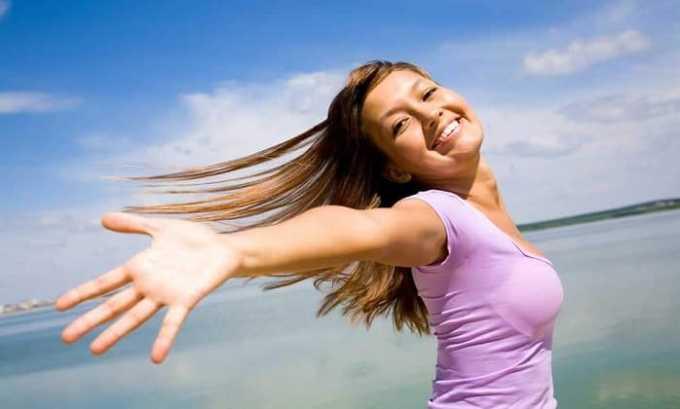 Благодаря данному лекарственному средству улучшается настроение