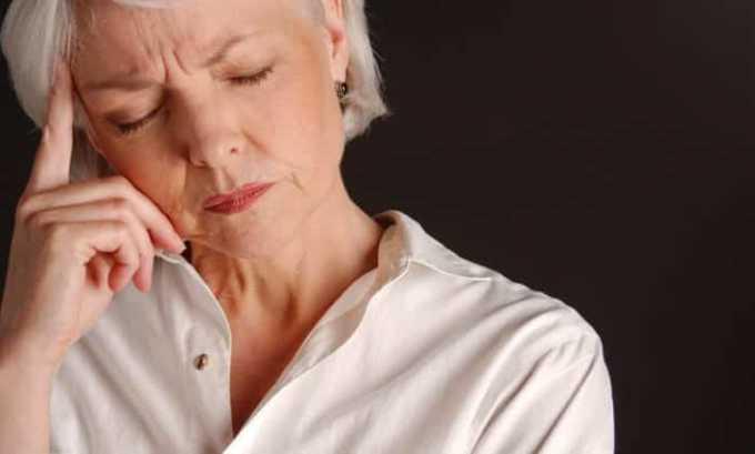 Обработка обширных областей кожи может приводит к появлению головокружения