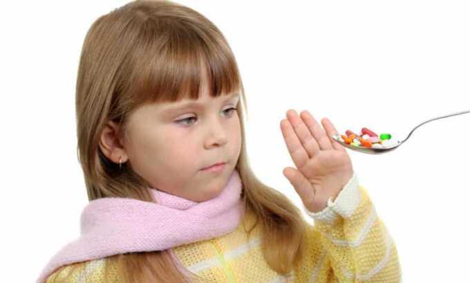 Рапиклав противопоказан детям до 12 лет