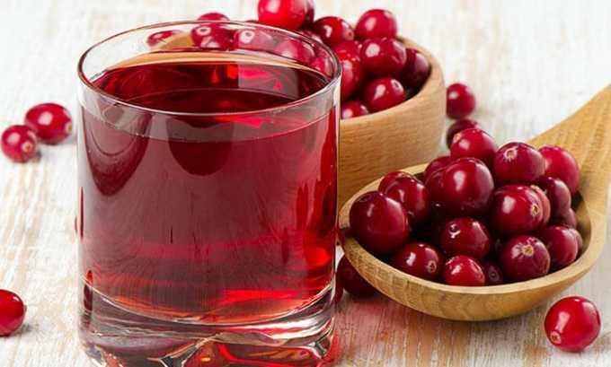 Клюквенный сок - это противовоспалительное средство получает только положительные отзывы