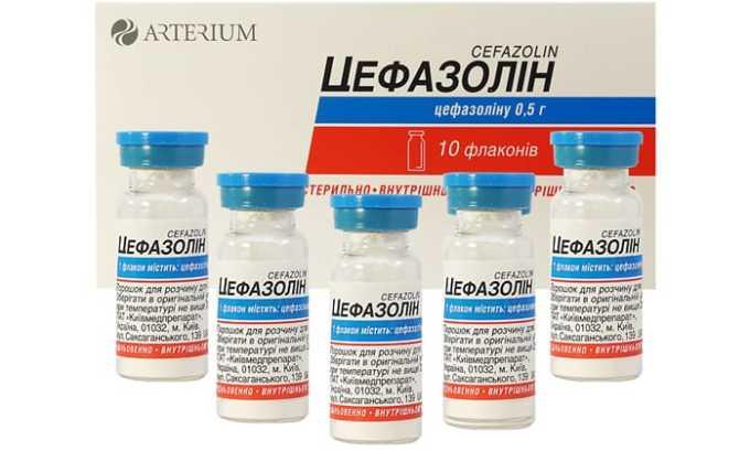 Категорически противопоказано употребление алкоголя совместно с Цефазолином