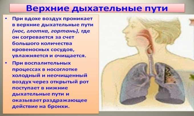 Применение Бензилпенициллина назначается при инфекциях верхних дыхательных путей