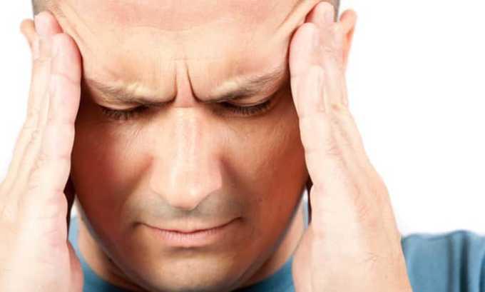 Лекарство используется при головной боли