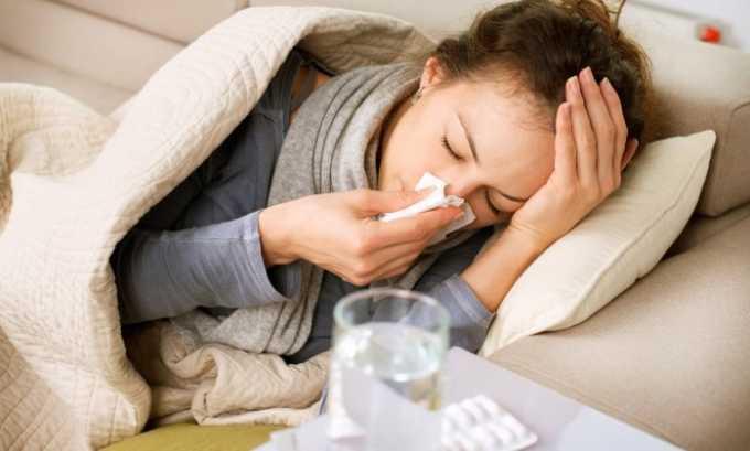 Бисептол помогает при лечении простуды и кашля