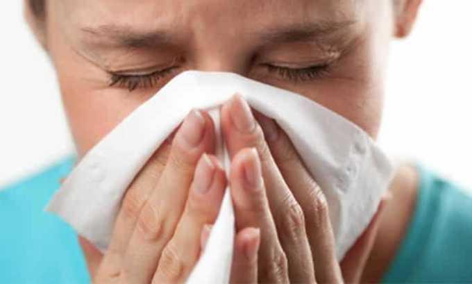 Аллергический насморк служить противопоказанием к применению Диклорана