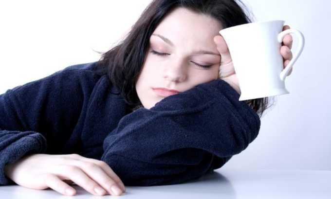 При использовании препарата возможно появление побочного эффекта в виде сонливости