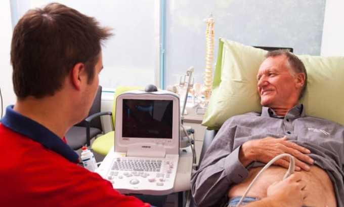 Ультразвуковое исследование помогает определить патологические изменения органов, воспаление и конкременты