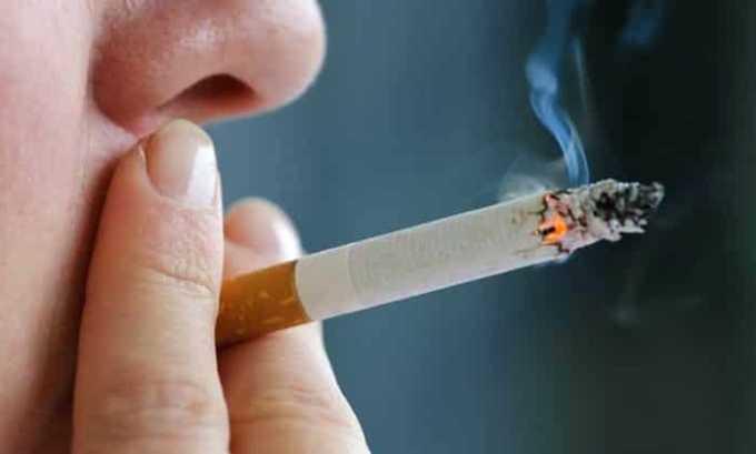 Препарат с осторожностью применяют при курении