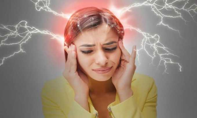 Препарат назначают при мигрени