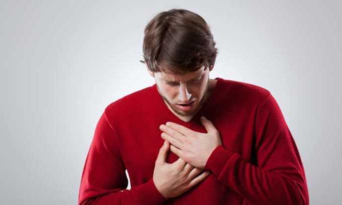 При передозировке средней и тяжелой степени могут возникать нарушение дыхания