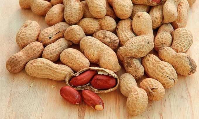 Пищевым источником тирозина выступает арахис