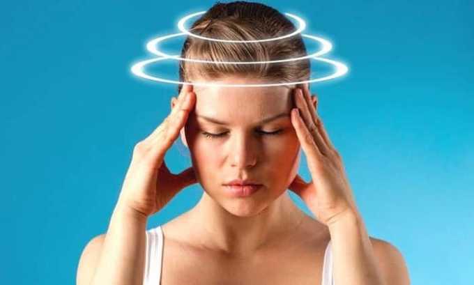 Побочным действием при приеме препарата может стать головная боль