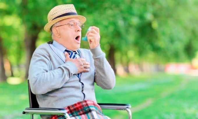 Отрицательные симптомы в большинстве случаев возникают в виде астматических приступов