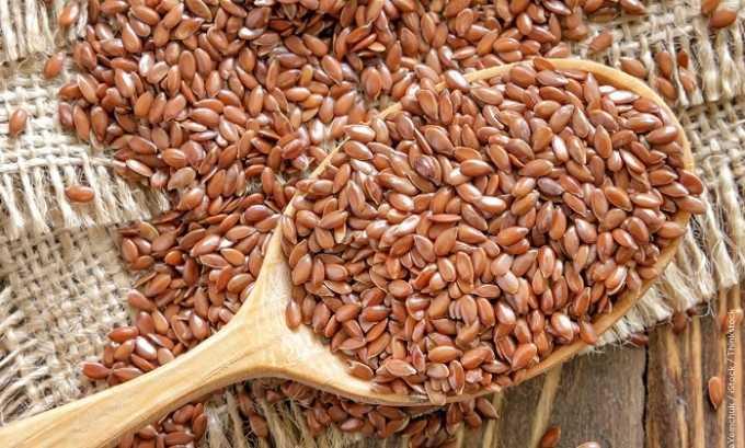 Также в сбор могут добавляться семена льна