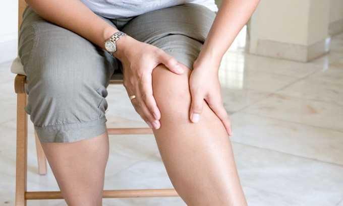 Медикамент показан при заболеваниях суставов