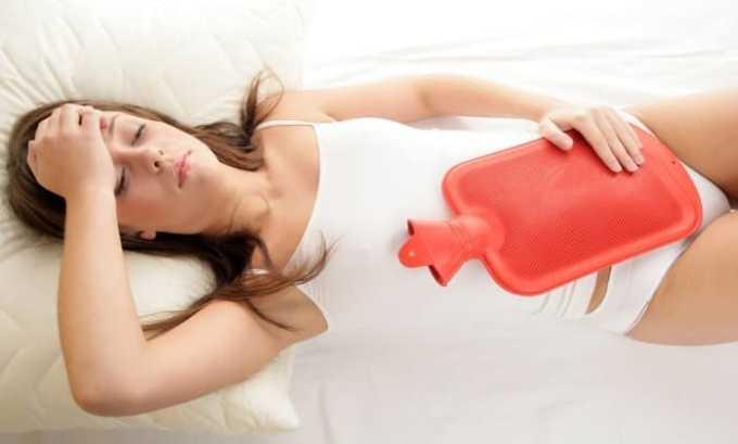 Ибупрофен назначают при ПМС , сопровождающимся болевыми ощущениями