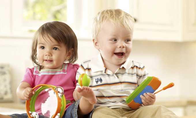 Макмирор мазь используется у детей с 3-летнего возраста