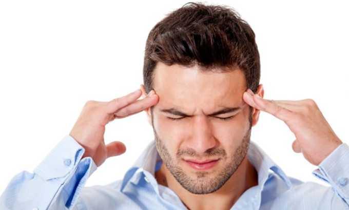 Препарат вызывает головные боли