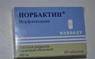 Результаты применения Норбактина при инфекциях мочевыводящих путей