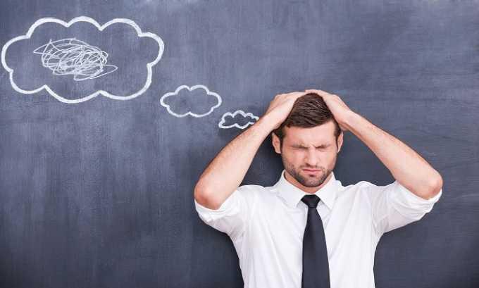 При передозировке проявляются симптомы нарушения сознания