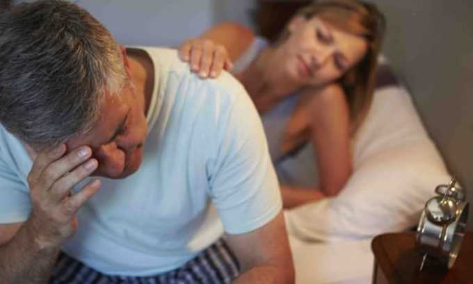 После длительного приема лекарственного препарата у некоторых мужчин может наблюдаться ухудшение потенции