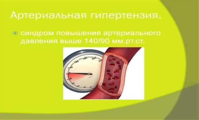 Лекарственный препарат применяется в клинической практике для устранения артериальной гипертензии