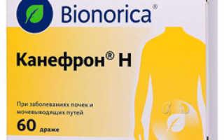 Описание препарата «Канефрон Н»: инструкция по применению