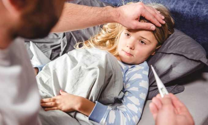 Во время лечения цистита стараются снизить температуру