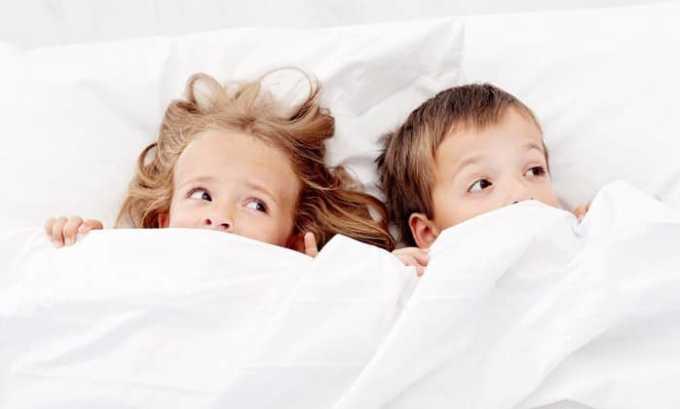 Одновременный прием Глицина и Пантогама помогает справиться с бессонницей у детей