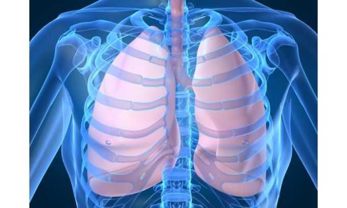 Цефуроксим применяют при болезни дыхательной системы