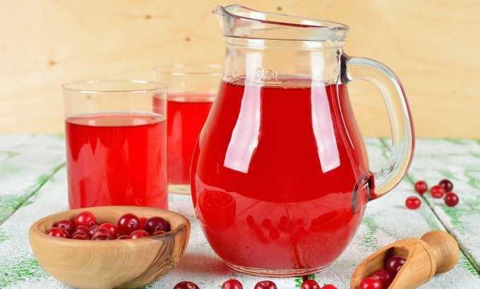 Есть несколько рецептов, например: напиток готовят из 1 ст. л. брусники, 2 ст. л. толокнянки и 200 мл воды. Принимается готовое средство по 50 мл 4 раза в сутки