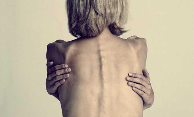 При использовании данного противомикробного средства может развиться анорексия