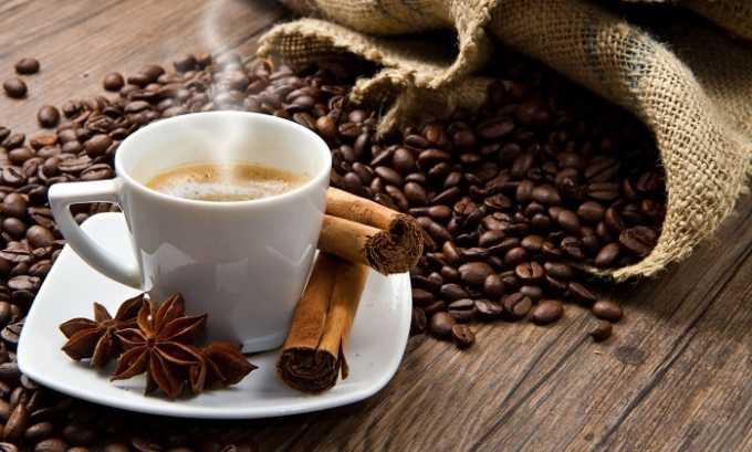 Нельзя употреблять кофе и газированные напитки