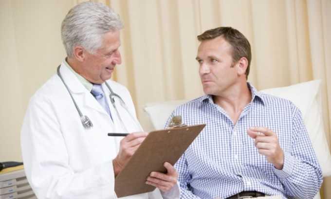 Первоначально установить диагноз у мужчин может терапевт