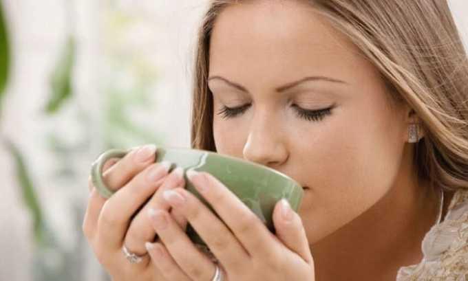 В холодное время года настой можно пить в профилактических целях