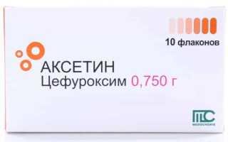 Как лечить болезни мочевыводящих путей средством Аксетин?